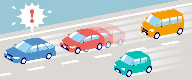 高速道路の車間距離の測り方(あおり運転の誤解注意)|チューリッヒ