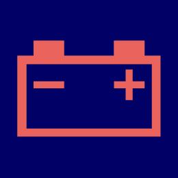 充電警告灯(バッテリーランプ、バッテリー警告灯)