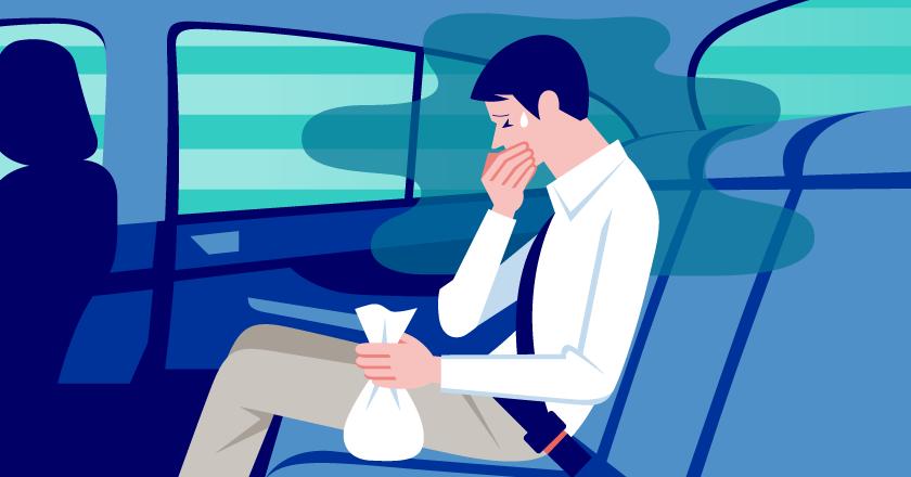 バス 酔い 対策