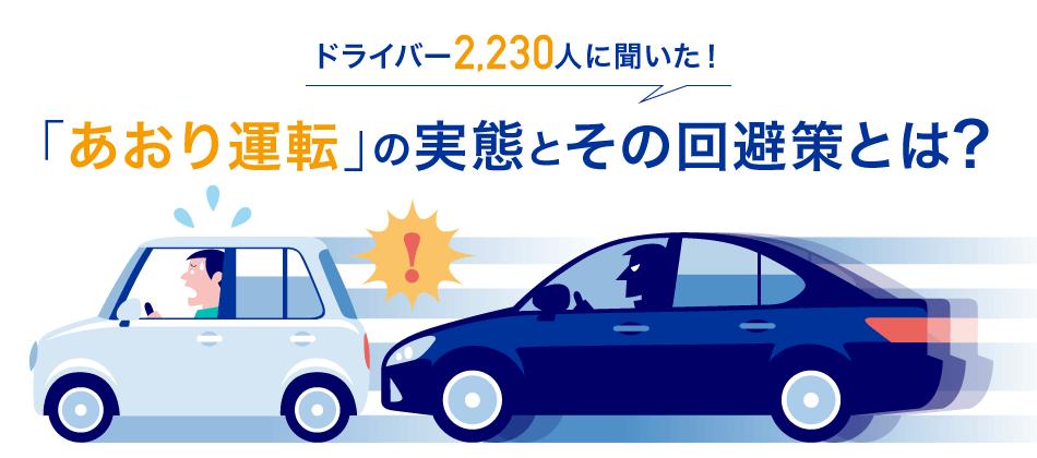 あおり運転の調査(事故対策)|チューリッヒ
